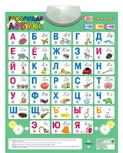Talking alphabet toy